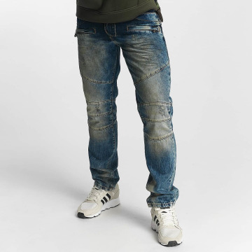 Cipo & Baxx Straight Fit Jeans Jake blau