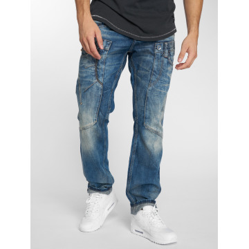 Cipo & Baxx Straight fit jeans Alpha blauw