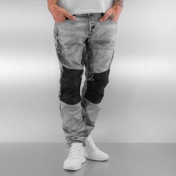 Cipo & Baxx Straight Fit Jeans Kobbi grå