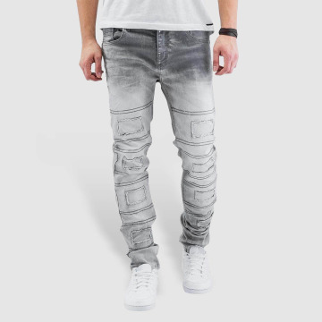 Cipo & Baxx Straight Fit Jeans Elias grau