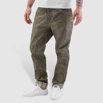 Cipo & Baxx Straight Fit Jeans Ebro khaki