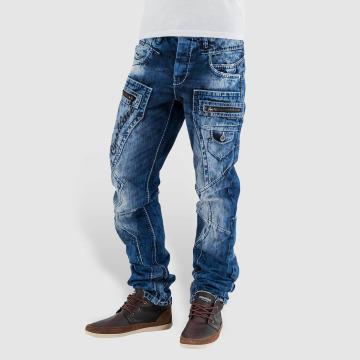 Cipo & Baxx Straight Fit Jeans Santo modrý