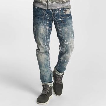 Cipo & Baxx Straight Fit Jeans Kian modrý