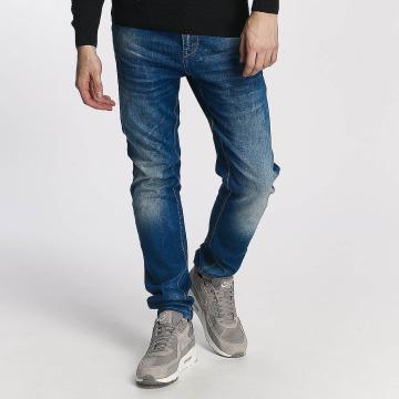 Cipo & Baxx Straight Fit Jeans Premium modrý