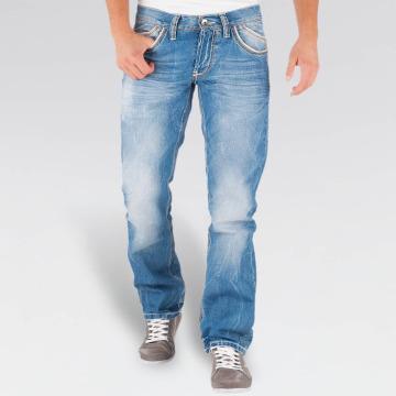 Cipo & Baxx Straight Fit Jeans Igor Classic modrý