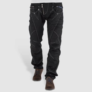 Cipo & Baxx Straight fit jeans Open Minded Classic Fit zwart