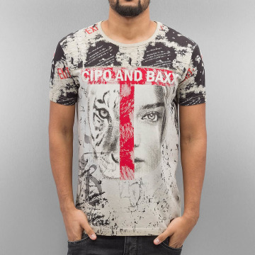 Cipo & Baxx t-shirt Wildbeauty bruin