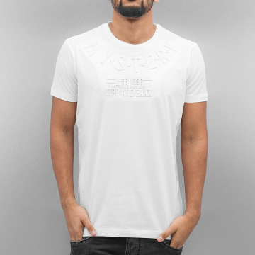 Cipo & Baxx T-Shirty Mystery bialy