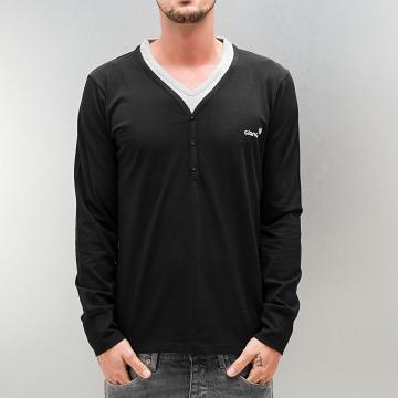 Clang Camiseta de manga larga Kianu negro