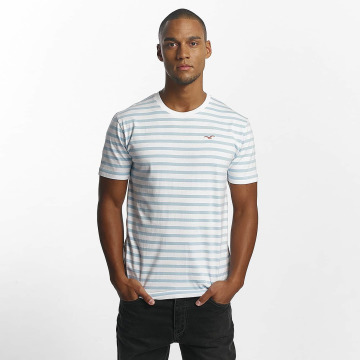 Cleptomanicx T-Shirt Classic Stripe weiß