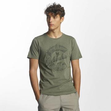 Columbia T-Shirt Mosstone Heather olive