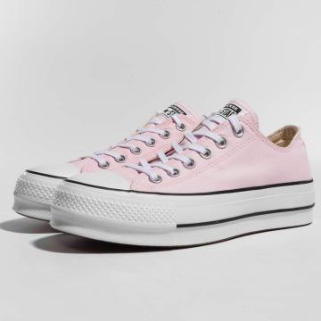 converse rosa pallido