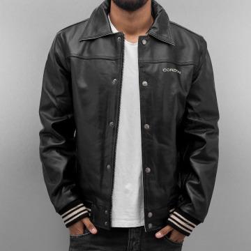 Cordon Leather Jacket Havard black