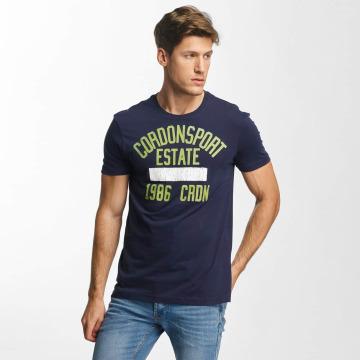 Cordon T-shirts Alf blå