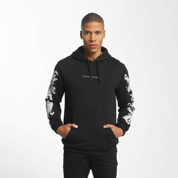 Criminal Damage Hoodie Paulo black