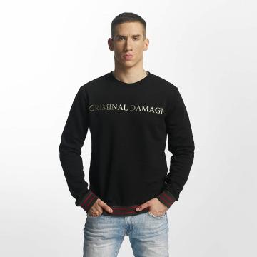 Criminal Damage Pullover Aldo black
