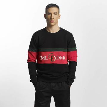 Criminal Damage Pullover Dolfo Logo schwarz