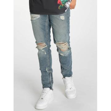 Criminal Damage Skinny Jeans Carter blå