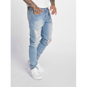 Criminal Damage Skinny Jeans Uzi blå