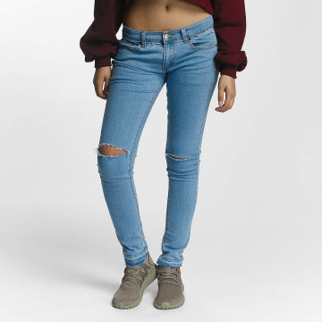Criminal Damage Skinny jeans Raw blauw