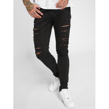 Criminal Damage Skinny jeans Camden zwart