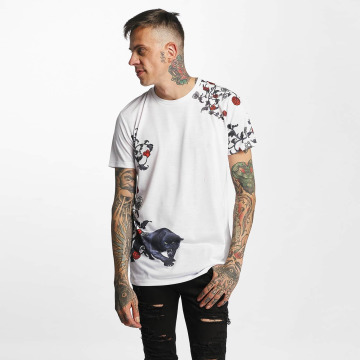 Criminal Damage T-Shirt Panther blanc