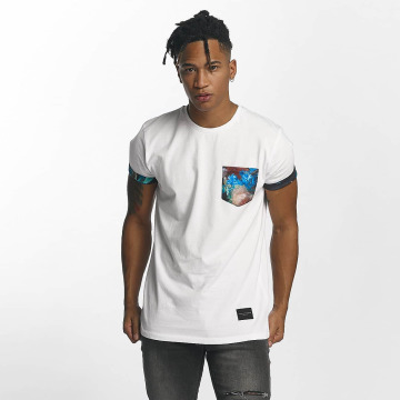 Criminal Damage T-Shirt Meadow blanc