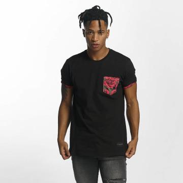 Criminal Damage T-Shirt Vale Pocket noir