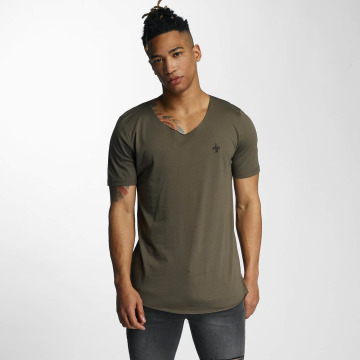 Criminal Damage T-shirt Baci oliv