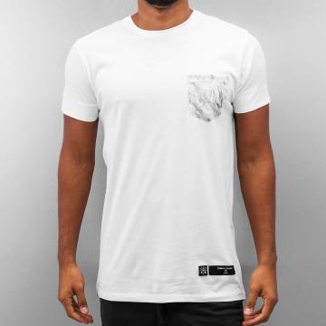 Criminal Damage T-shirt Lime vit