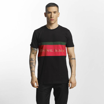 Criminal Damage t-shirt Dolfo zwart