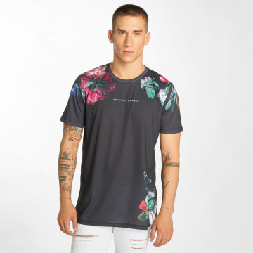 Criminal Damage T-shirts Siena grå
