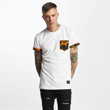 Criminal Damage T-shirts Dazzle hvid