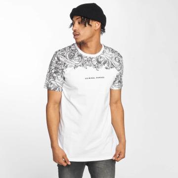 Criminal Damage T-Shirty Fresco bialy