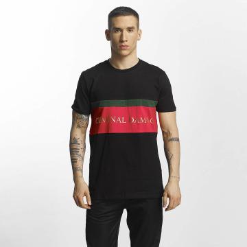 Criminal Damage T-Shirty Dolfo czarny
