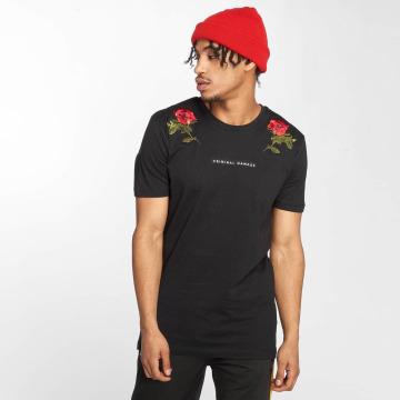 Criminal Damage T-Shirty Thorn czarny