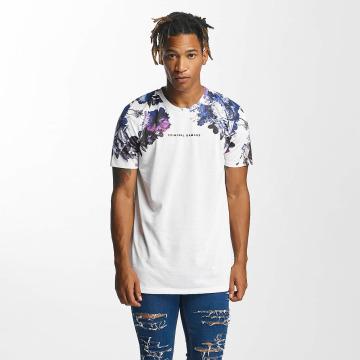Criminal Damage T-skjorter Rochelle hvit