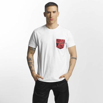 Criminal Damage T-skjorter Vale Pocket hvit