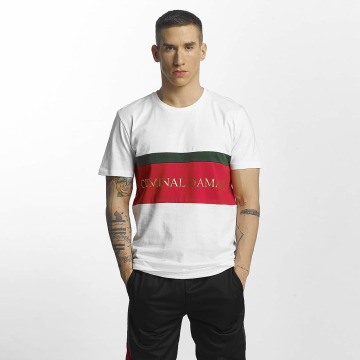 Criminal Damage T-skjorter Dolfo hvit