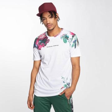 Criminal Damage T-skjorter Siena hvit