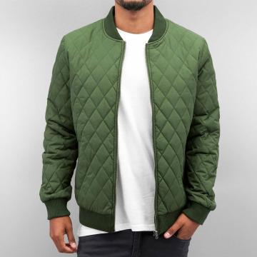 Cyprime Демисезонная куртка Quilted оливковый