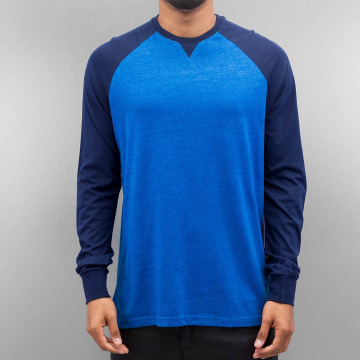 Cyprime Camiseta de manga larga Raglan azul