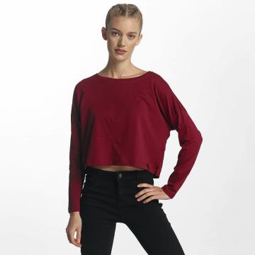 Cyprime Camiseta de manga larga Actinium rojo