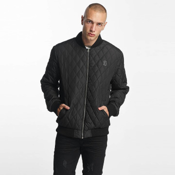 Cyprime Cazadora bomber Quilted negro