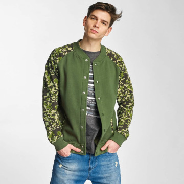 Cyprime College Jacket Fleece olive