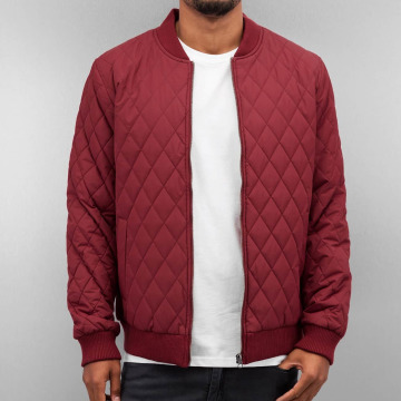 Cyprime Giacca Mezza Stagione Quilted rosso