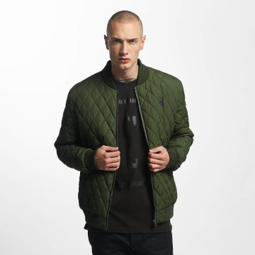 Cyprime Giubbotto Bomber Quilted Bomber oliva