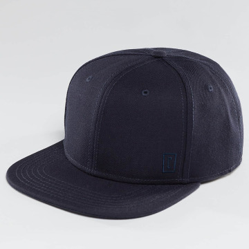 Cyprime Snapback Cap Starter Shape blue
