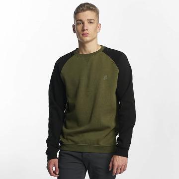 Cyprime Swetry Basic zielony