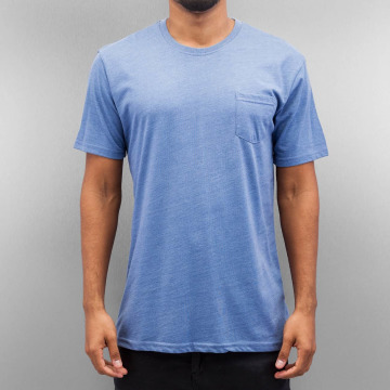 Cyprime T-Shirt Breast Pocket blue